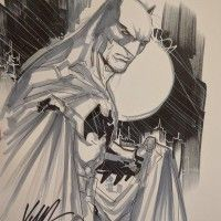 #Batman #Dessin Ken Lashley #Comic