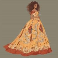 #Mode #Fashion #Zendaya dessin Punziella