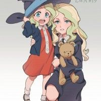 Little Witch Academia dessin 生活習慣病