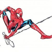 #Spiderman #Dessin takeshi miyazawa #Comic #Marvel
