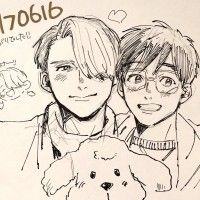 Yuri On Ice dessin fanart 尻川
