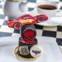 #Gâteau #Cars #FlashMcqueen Lightning McQueen #Disney #Pixar #Animation