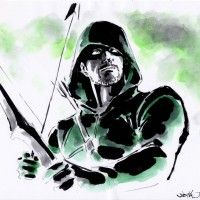 Green #Arrow #Dessin #JunichiHayama #DcComics