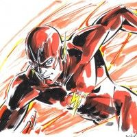 #Flash #Dessin #JunichiHayama #DcComics