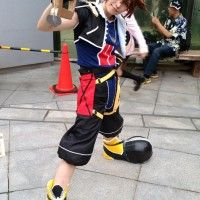 #KingdomHeart #Cosplay #Sora au #Comiket #Japon