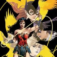 Batgirl and the Birds of Prey Wonder Woman dessin mangaka Kamome Shirahama