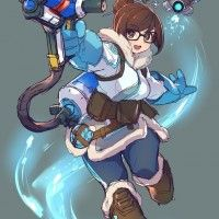 Jeu Video Overwatch Mei dessin ugs_kotatsu