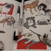 #Chiens #Kawaii #Dessin kaye_bin #Animal #Anime