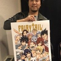 #HiroMashima invité #Mangaka #FairyTail New York #ComicCon #Salon #Popculture #Anime