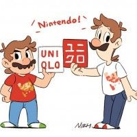 @UNIQLO_France #SuperMario #Dessin ark_SMB #Nintendo