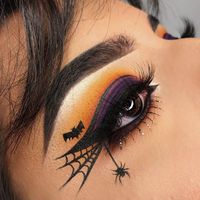 #Halloween #Maquillage make-up #Yeux