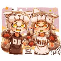 #Halloween #Splatoon #Dessin ha_ru_ta_ro #JeuxVideo