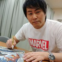 #HiroMashima #Mangaka #FairyTail #Marvel #CaptainAmerica #IronMan
