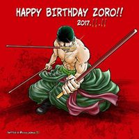 One Piece Roronoa Zoro anniversaire Pocky day photo coco_634
