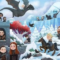 Game Of Thrones chibi kawaii dessin fanart Steph Lew