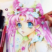 Sailor Moon Crystal dessin nashi