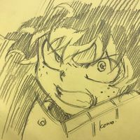 My Hero Academia dessin komo_tan
