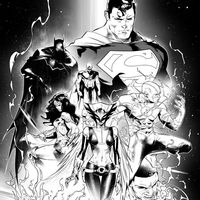 #JusticeLeague #Batman #Superman #WonderWoman #Flash #Dessin Jorge Jiménez #Comic #DcComics #Bd