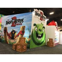 Stand du film #AngryBirds 2 au licensing expo
