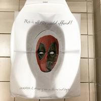 Deadpool 2 trolle les WC au salon Comic Con San Diego 2018