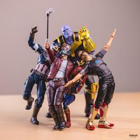 #Selfie #Avengers #Thanos #Ironman #CaptainAmerica #StarLord #LesGardiensDeLaGalaxie photo hotkenobi #Marvel