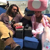 #Flash et #Aquaman #JasonMomoa #EzraMiller Toadette