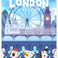#Londres #London #Chien #Dessin tinysnails #Manga