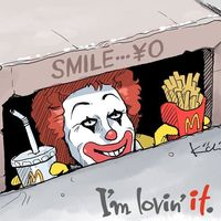 #ça ronald #MacDonaldS #Clown #Dessin Kiichi