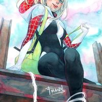 #Spidergwen #Dessin frany #Spiderman #Marvel #Comic