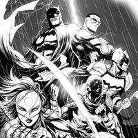 #Dessin cover #Batman and The Outsiders par #TylerKirkham and #ArifPrainto #DcComics