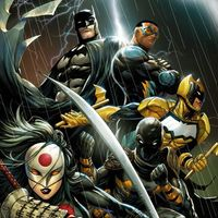 #Dessin cover #Batman and The Outsiders par #TylerKirkham and #ArifPrainto #Comic #DcComics