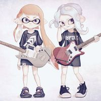 #Splatoon #music #guitare #Dessin omisomgmg #JeuxVideo
