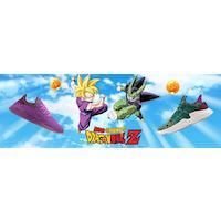 Basket Adidas Dragon Ball Z aux couleurs de Son Gohan et Cell
