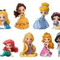 #Figurines #Princesses #Disney Characters Q posket petit Girls Festival