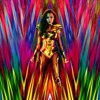 Affiche colorée du film Wonder Woman 1984