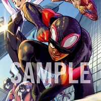 Dessin Spider-Man: New Generation Spider-Man: Into the Spider-Verse par Yusuke Murata mangaka de One Punch Man