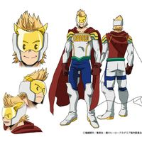 chara design Mirio Togata Lemillion Big 3 anime My Hero Academia saison 4
