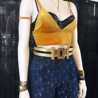 costume de Black Canary du film Birds Of Prey au New York Comic Con 2019