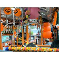 Décor fête Halloween bus japon