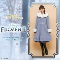 manteau princesse Disney Elsa La Reine Des Neiges 2 chez Secret Honey au Japon