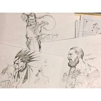 dessins Kenpachi Zaraki Bleach Conor McGregor Ultimate Fighting Championship UFC Touhou Fuhai Master Asia Undefeated of the East Gundam par ... [lire la suite]
