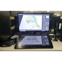 anime Chihayafuru studio animation Madhouse tablette graphique Wacom Cintiq Pro 16