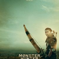Affiche Tony Jaa dans MONSTER HUNTER film de Paul W.S Anderson au cinéma le 9 septembre 2020