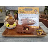 Biscuit cookie Totoro Chat Bus Nekobus Ghibli