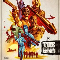 Affiche film The Suicide Squad réalisé par James Gunn