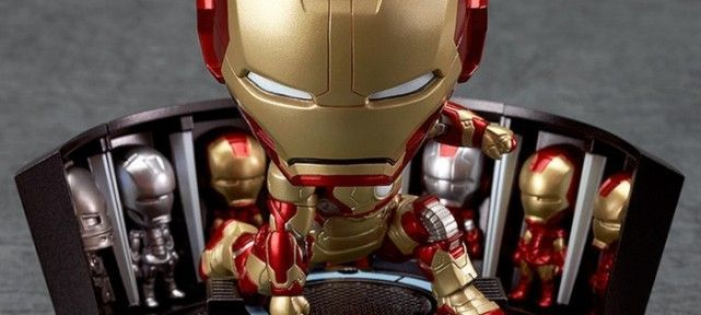 Nendoroid Iron Man Mark 42: Hero s Edition et Hall of Armor Set