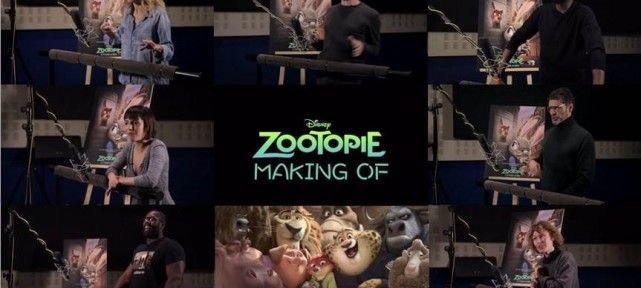 ZOOTOPIE - Making-of doublage VF