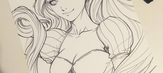 dessins-princesses-disney-artgerm