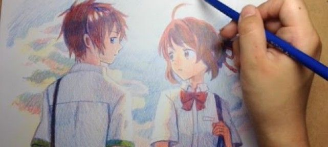 colorier-3-crayons-couleurs-your-name-kimi-no-na-wa-