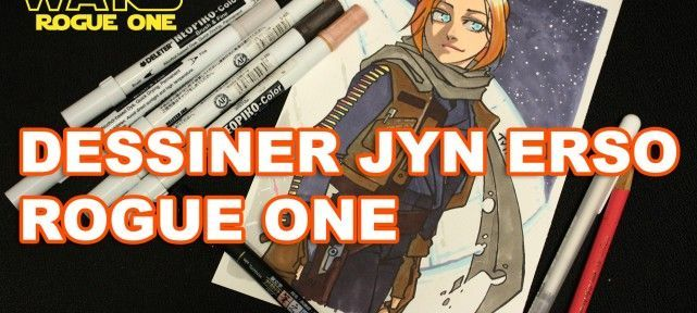 Dessiner Jyn Erso au Neopiko-Color - Rogue One